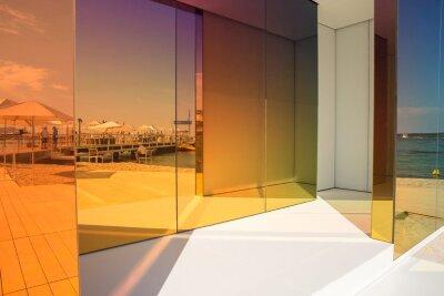 Зеркало Cheng Zhen / Rainbow pink / Colored mirror